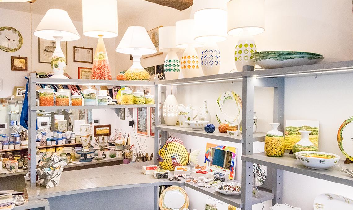 negozio Materia Ceramica Perugia