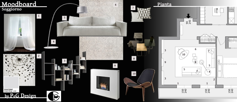 Peg design studio di architettura autore di casafacile for Sito per progettare casa