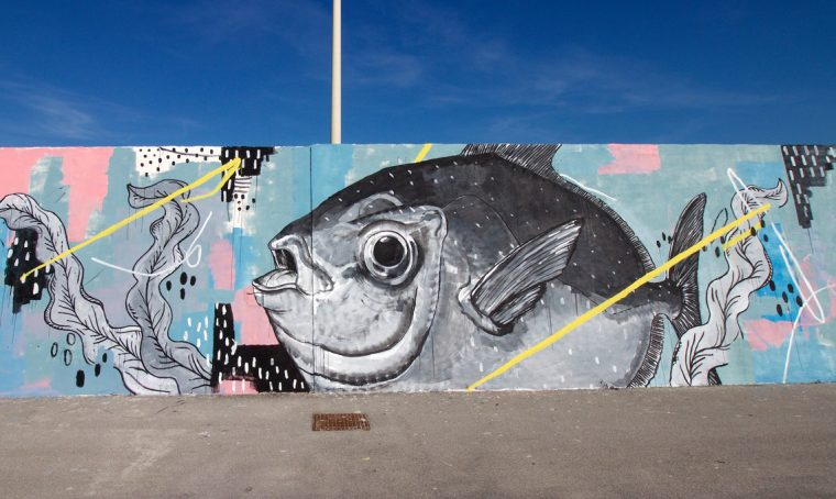 Vedo a colori: street art al porto di Civitanova Marche
