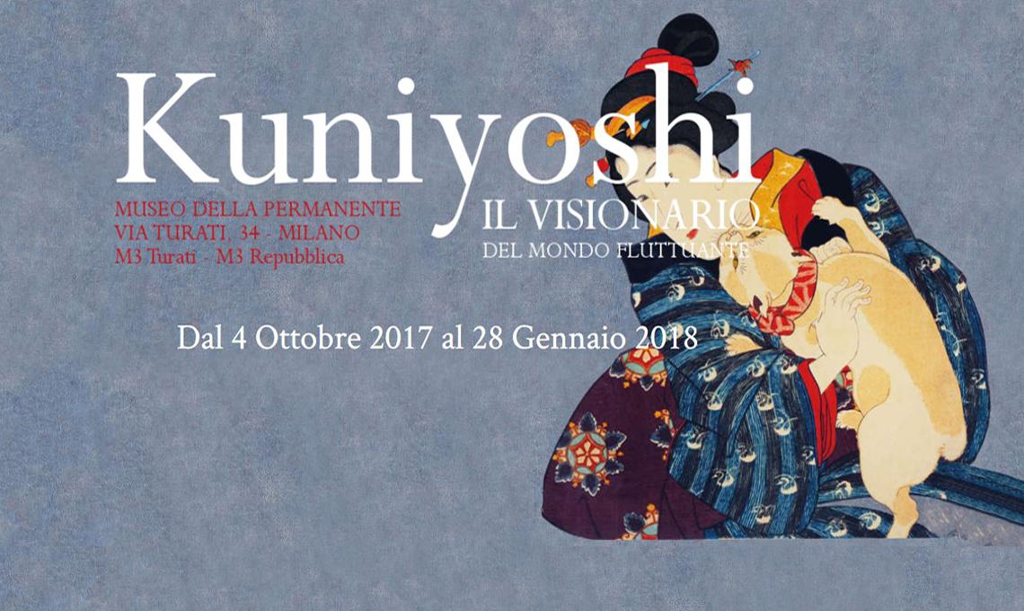 Kuniyoshi. Il visionario del mondo fluttuante - Museo della Permanente, Milano