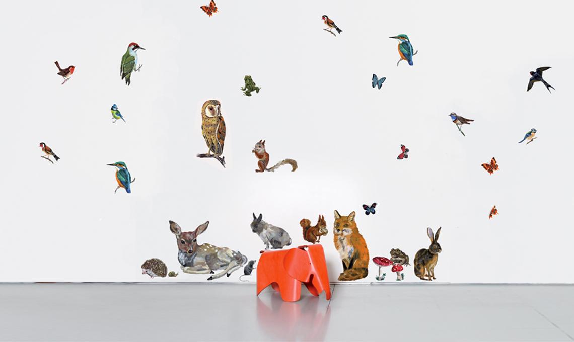 Stickers con animali Domestic