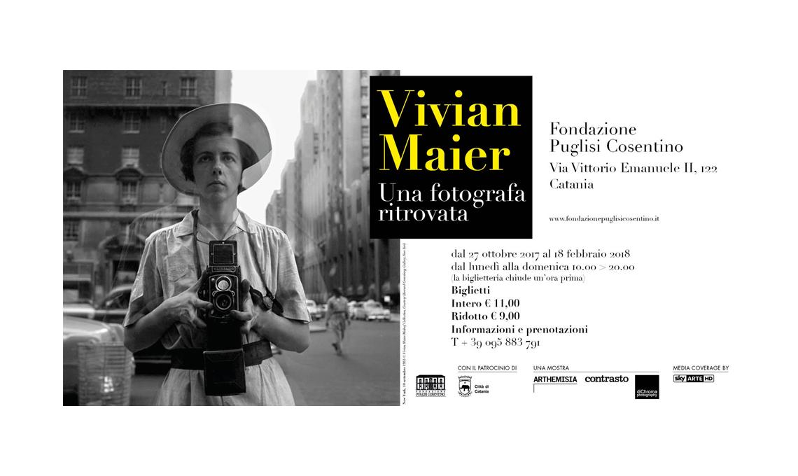 Vivian Maier. Una fotografa ritrovata - Fondazione Puglisi Cosentino, Catania