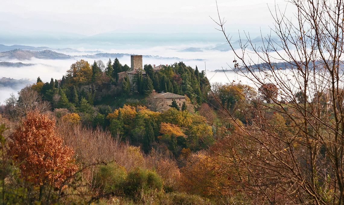 Castello di Petroia Umbria