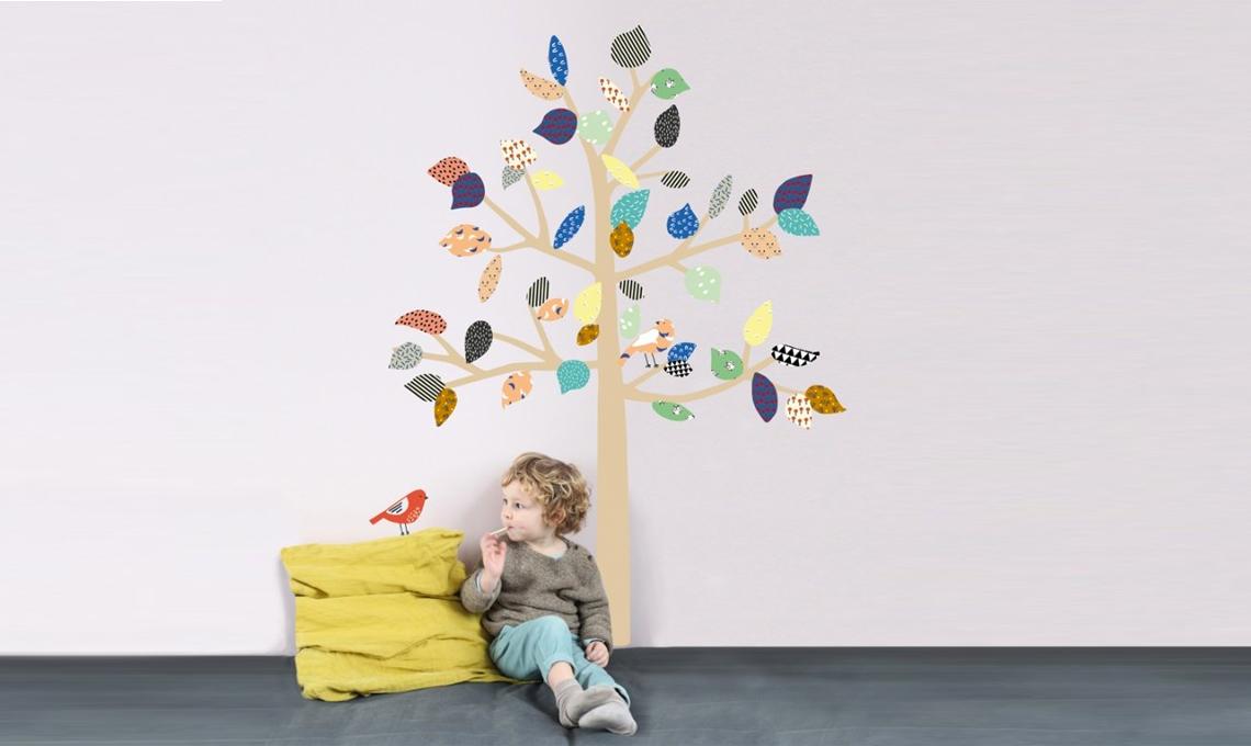 Stickers mimi 'lou albero