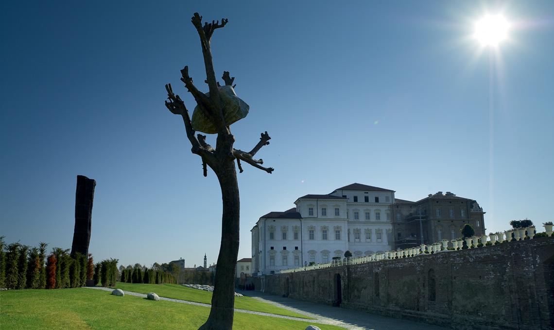 Venaria Reale, un'opera di Giuseppe Penone [foto Consorzio La Venaria Reale]