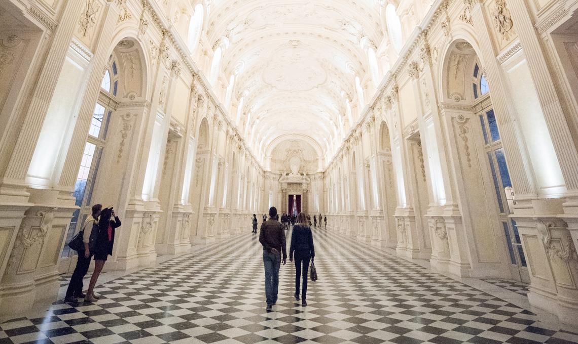 Venaria Reale, la Galleria Grande [foto Consorzio La Venaria Reale]