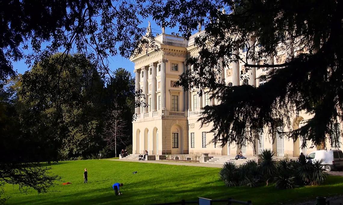 Il parco della Villa Reale di Milano