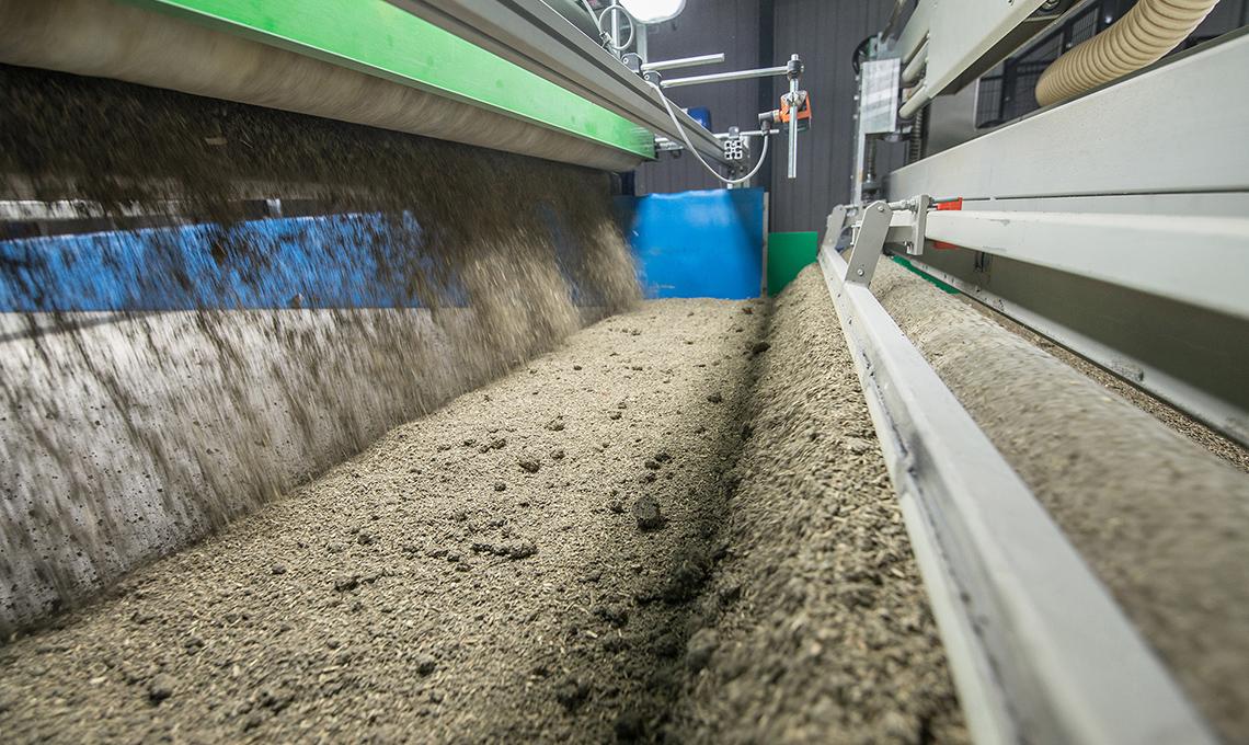 impianto bio materiali