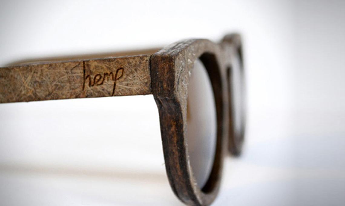 occhiali bioplastica