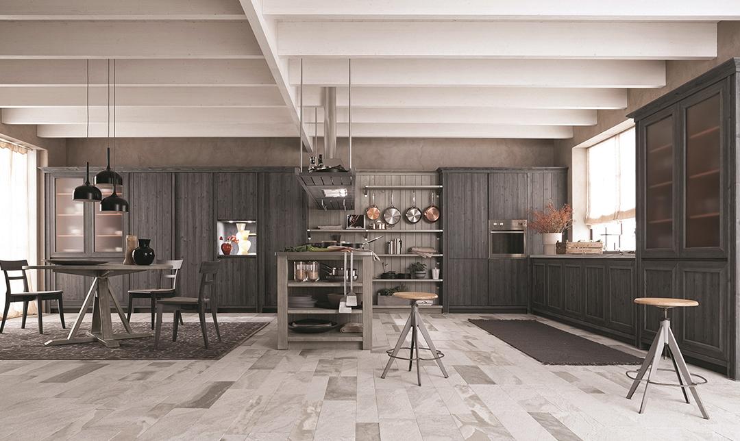 La cucina in legno 100 naturale casafacile - Pulire mobili legno cucina ...