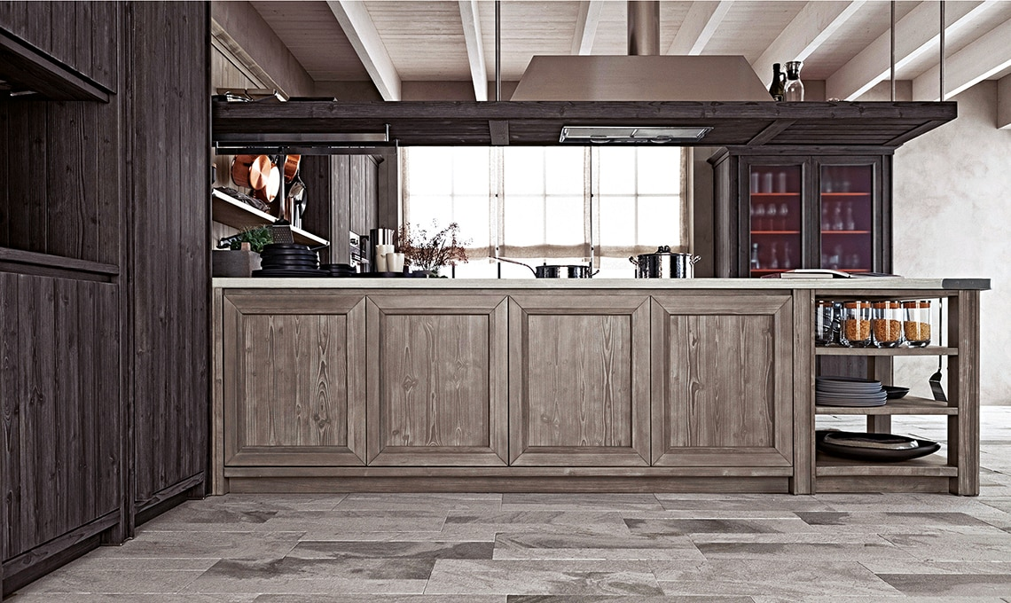 La cucina in legno 100% naturale - CASAfacile