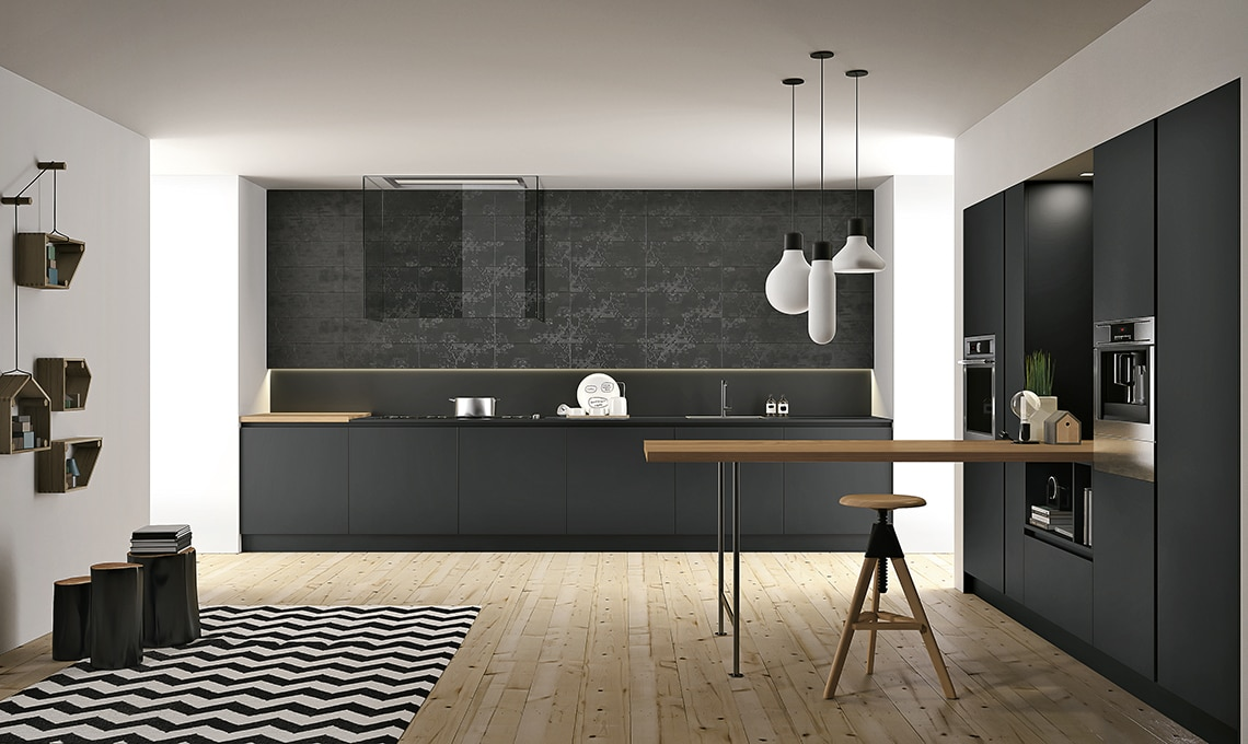 Fenix il materiale ultraresistente per una cucina a prova - Top cucina fenix prezzo ...