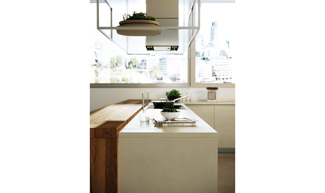 La cucina con le ante in grès porcellanato - CASAfacile
