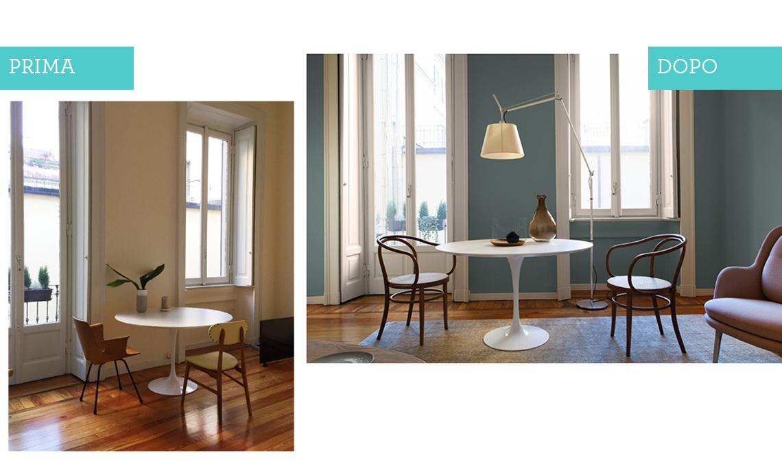 Un appartamento in affitto trasformato con il colore e - Agevolazioni costruzione prima casa 2017 ...