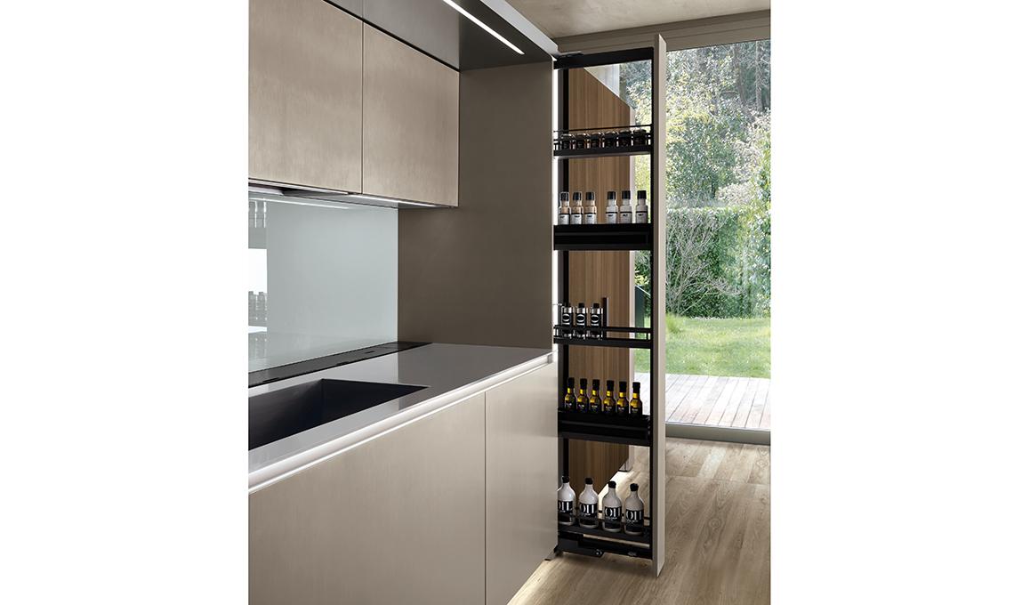colonne estraibili in cucina