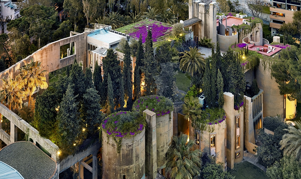 giardino su tetto