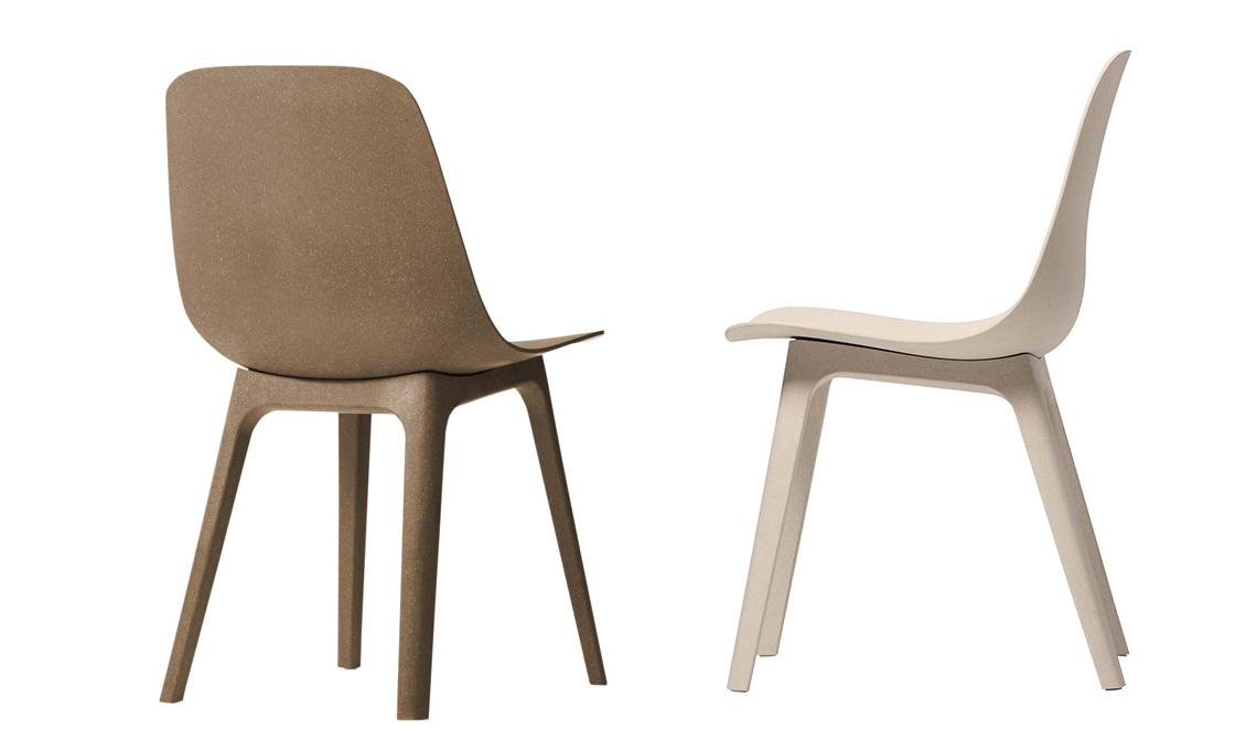 sedie plastica riciclata