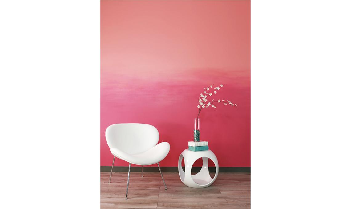parete effetto sfumato