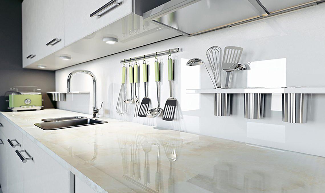 Cucina Piano Di Lavoro.9 Piani Di Lavoro Al Top Per La Tua Cucina Casafacile