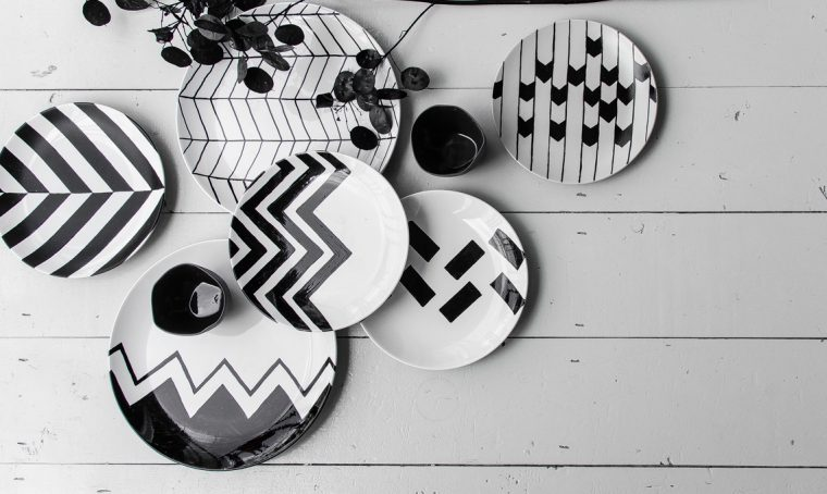 Come dipingere i piatti con il pennarello