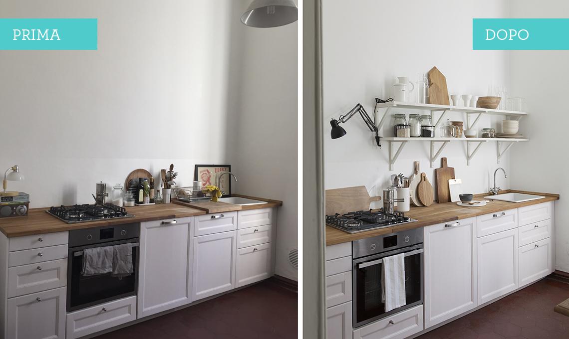 mensole in cucina