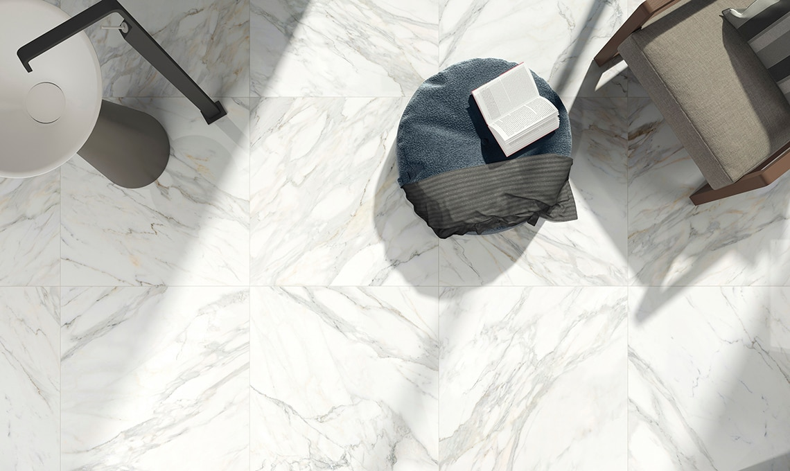 grès porcellanato effetto marmo