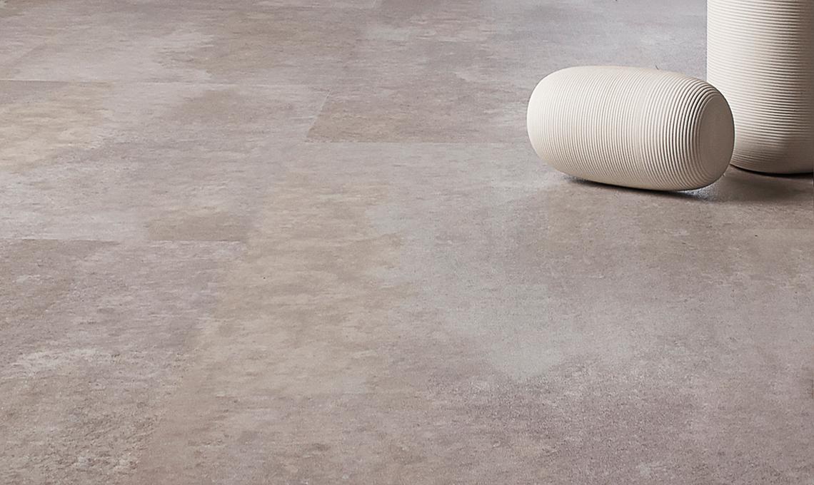 pavimento in vinilico effetto pietra