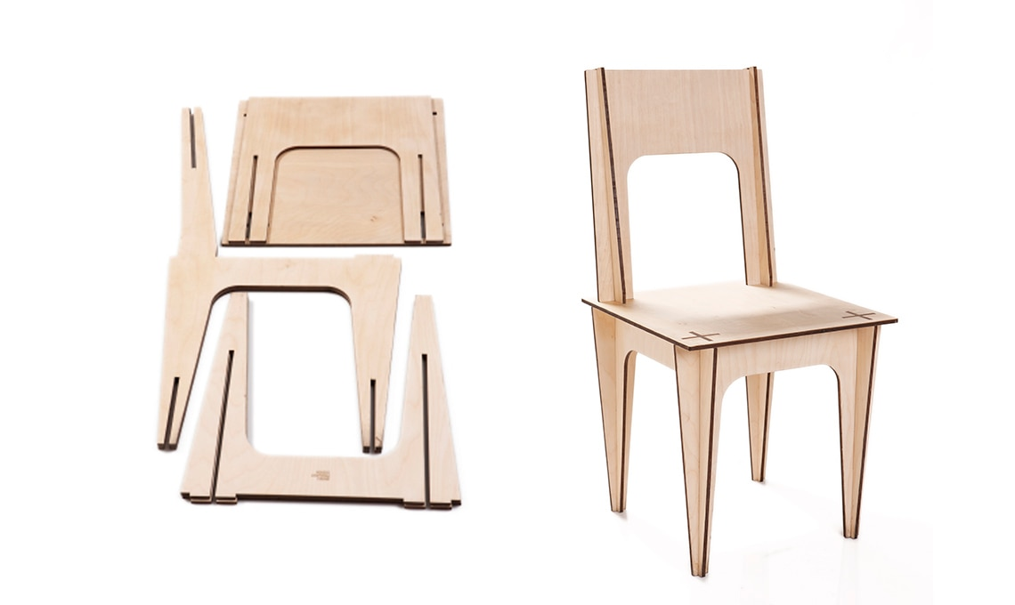 sedia multistrato