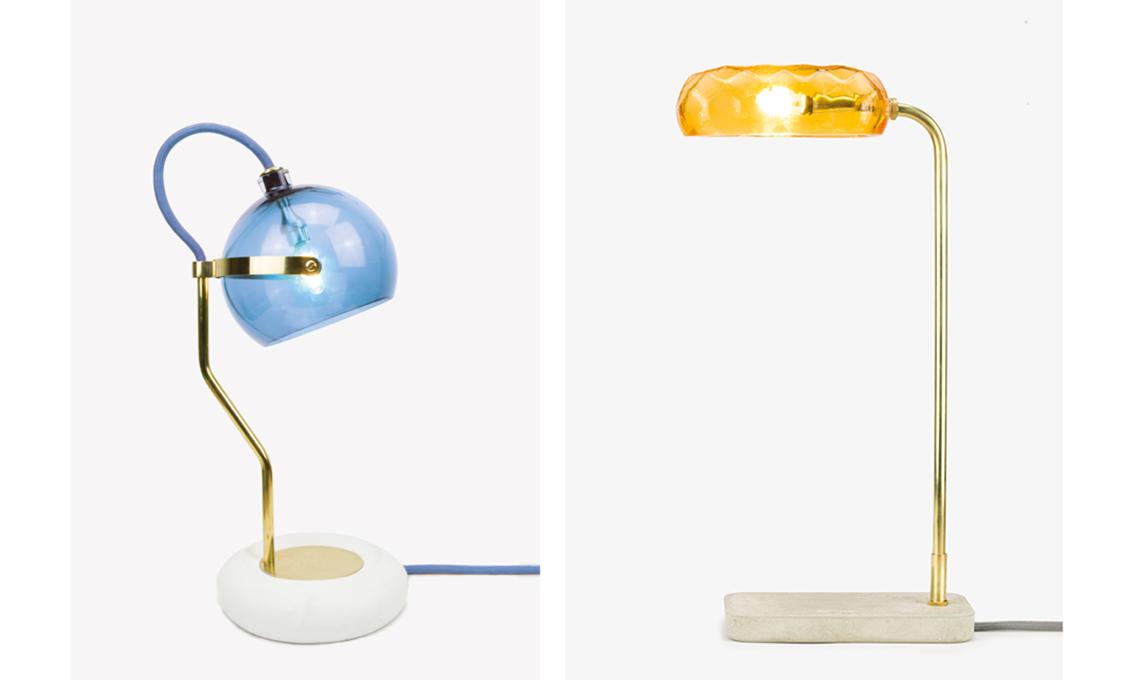 lampada design in vetro