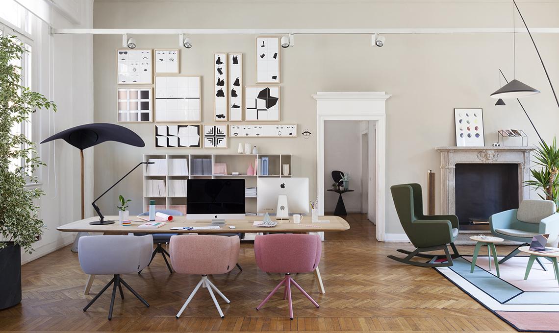 Come arredare uno spazio coworking casafacile for Appartamento new design roma lorenz