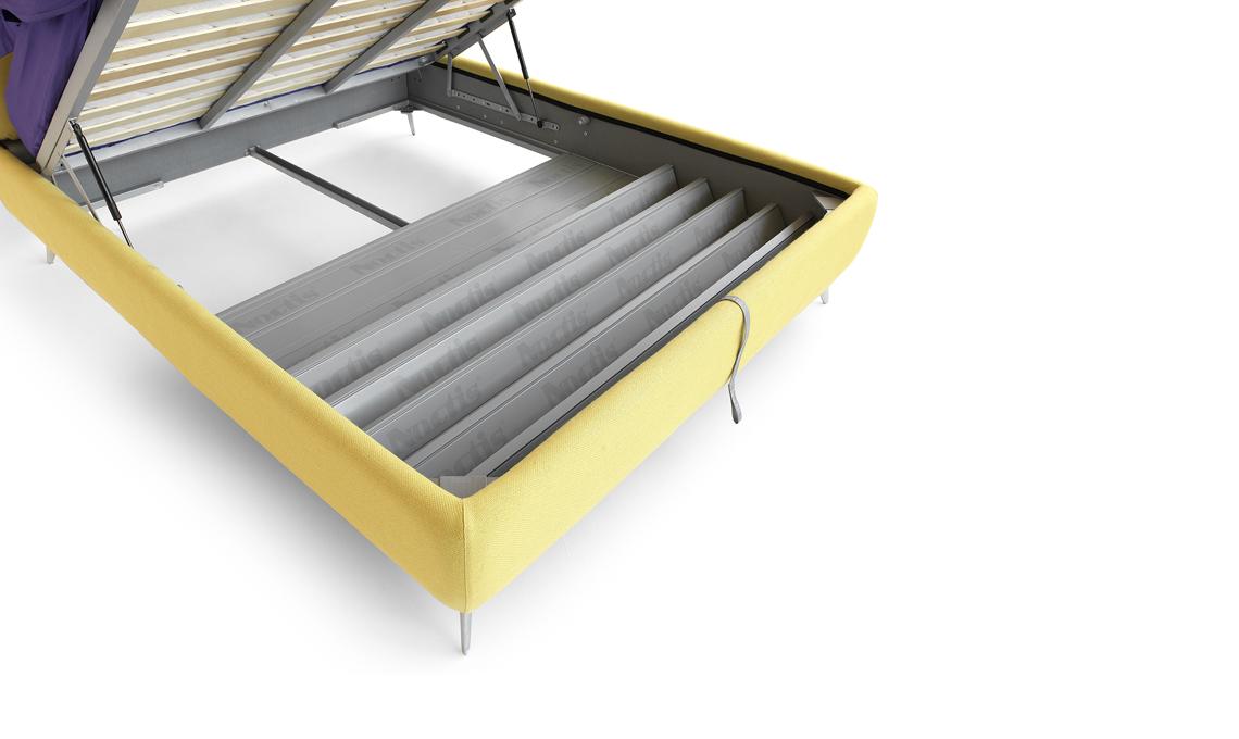 Cassetti Contenitori Sotto Letto : Come organizzare lo spazio sotto il letto contenitore casafacile