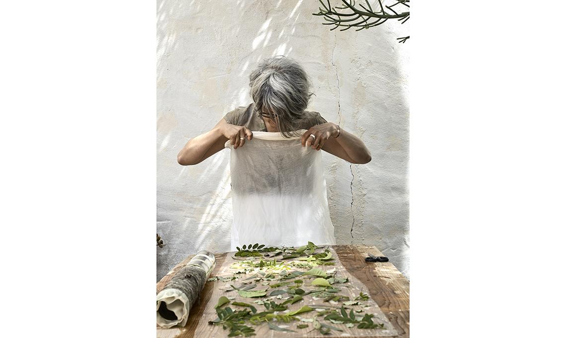 stampa vegetale fai-da-te