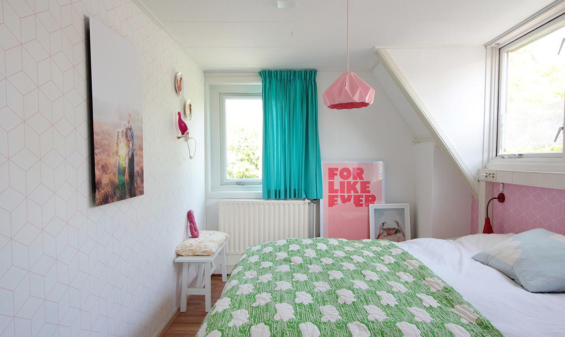 camera da letto colori pastello
