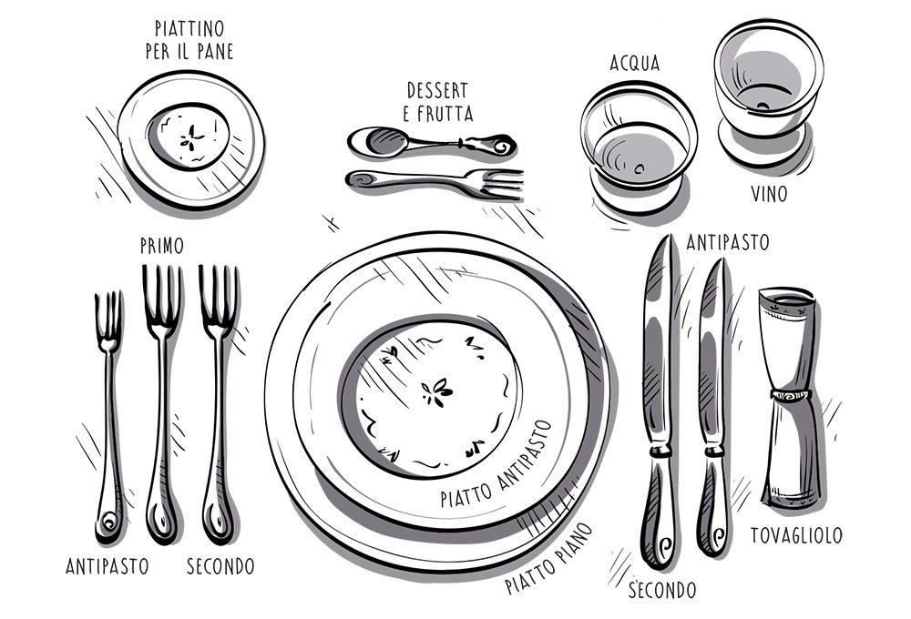 Le regole del galateo per apparecchiare la tavola