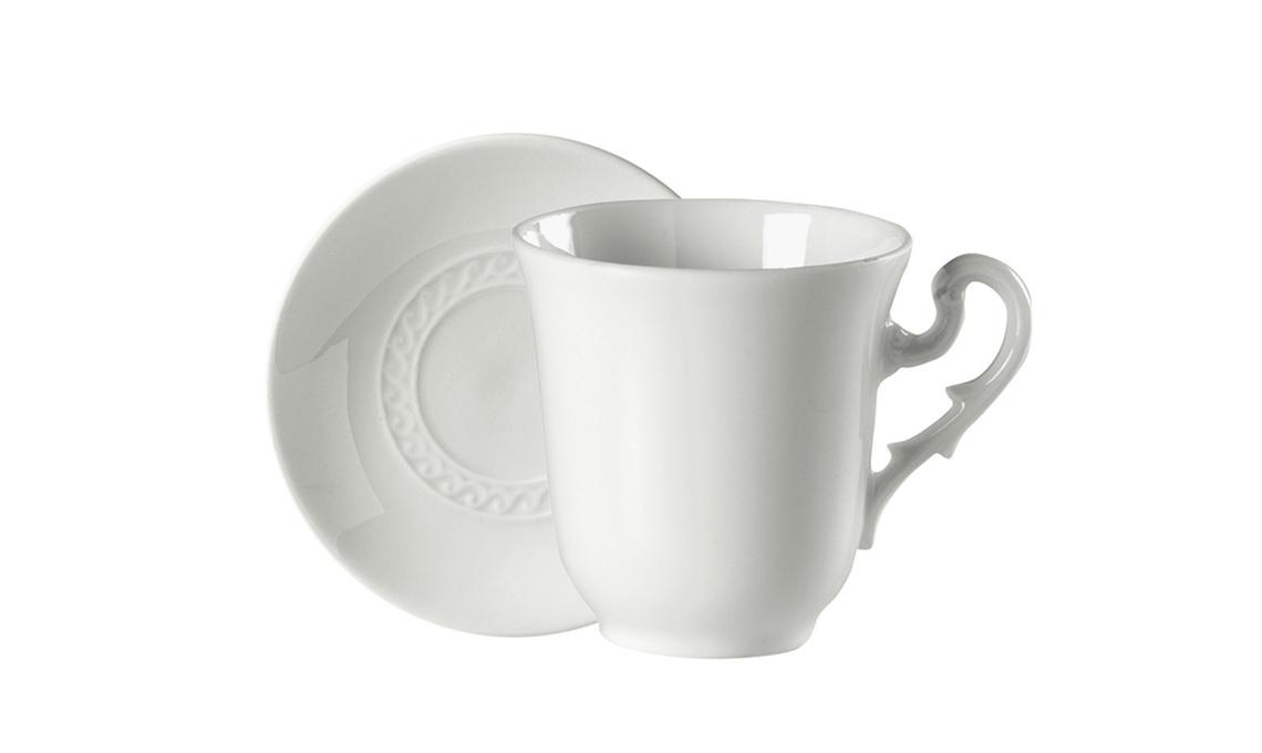 tazza con piattino