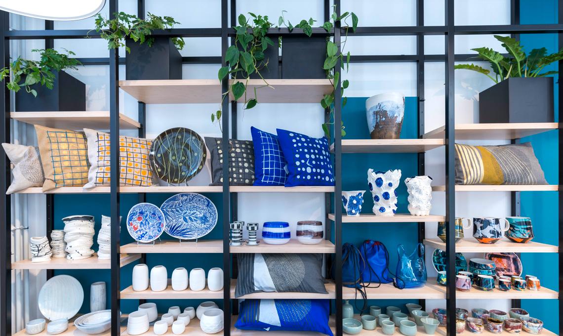 A parigi un negozio interamente dedicato all 39 artigianato for Piani casa negozio