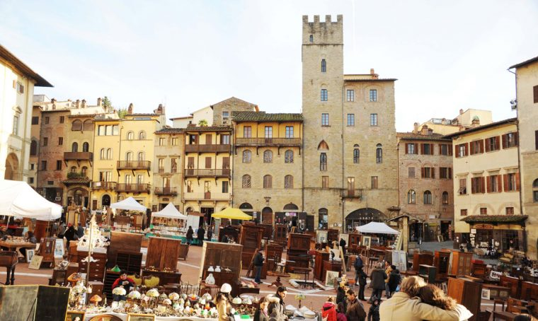 La Fiera antiquaria di Arezzo, ogni primo weekend del mese