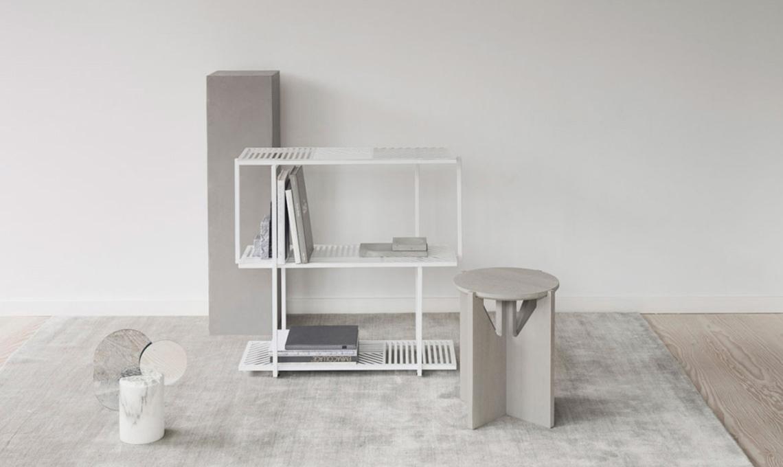 Arredi minimali di Kristina Dam Studio