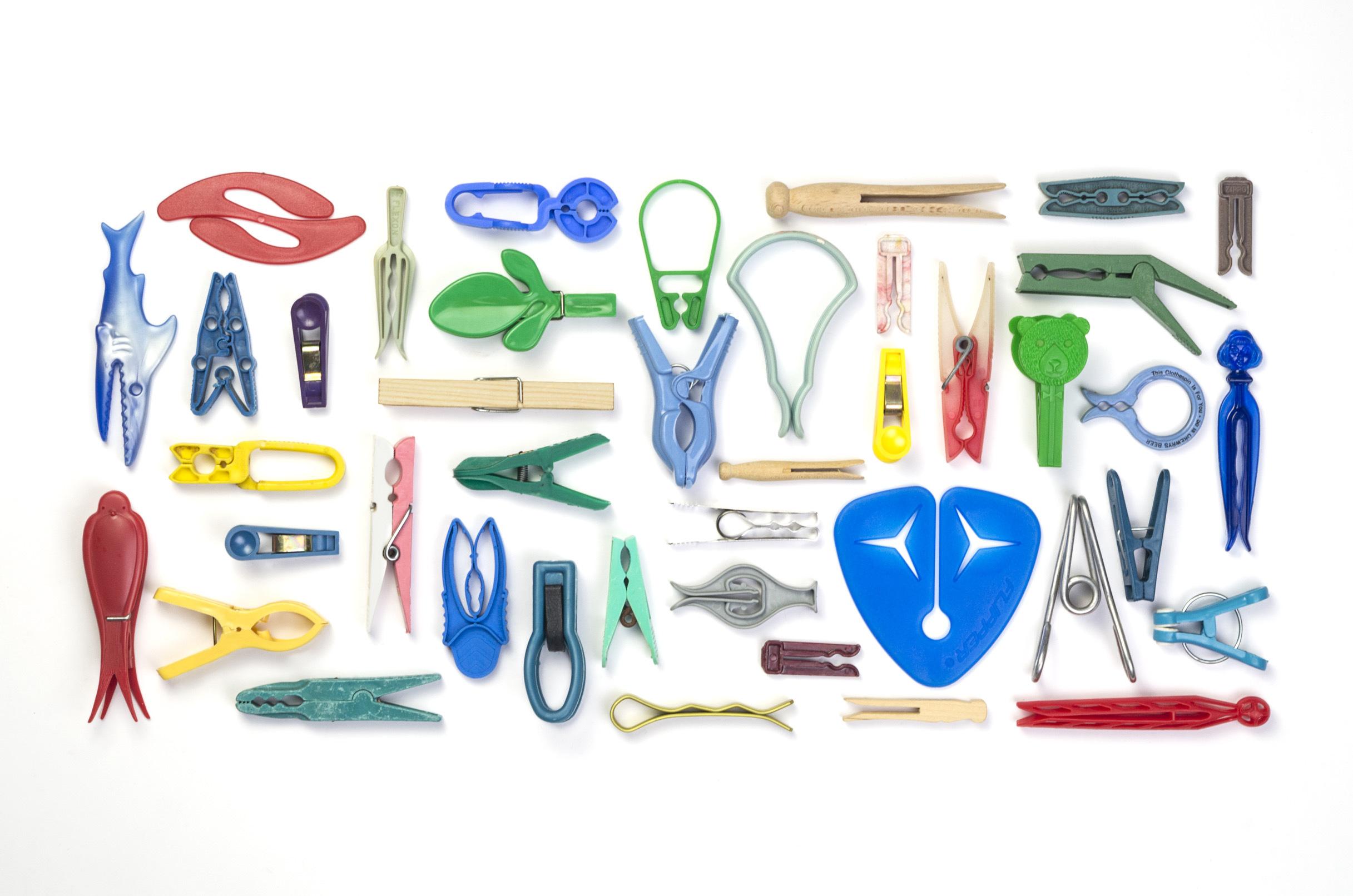 Mollette da bucato in mostra alla Triennale di Milano, fino al 12 novembre