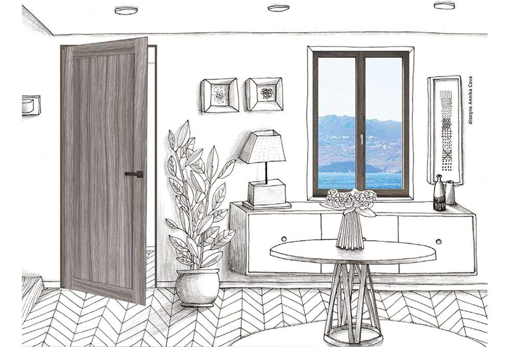 Come abbinare porte e finestre