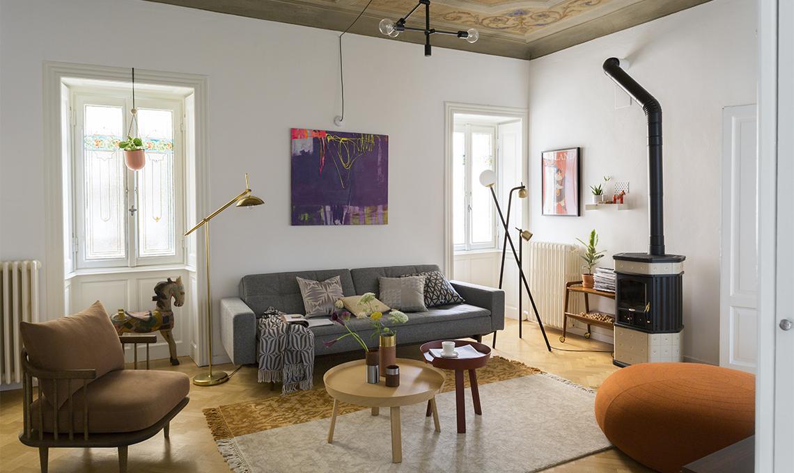 Come arredare una casa antica casafacile - Come rinnovare una cucina in legno ...