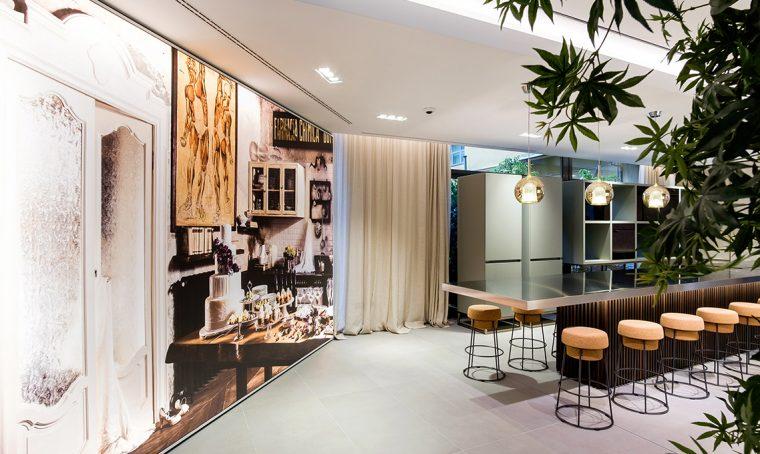 Il concept del nuovo showroom Franke
