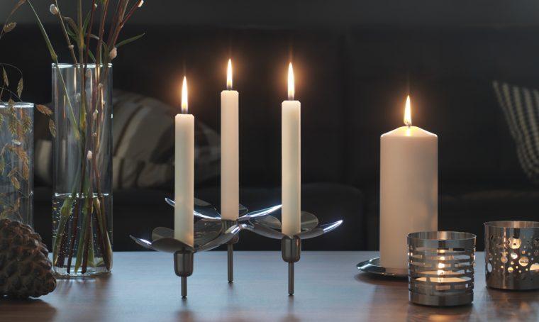 11 candelabri: le idee regalo che creano atmosfera