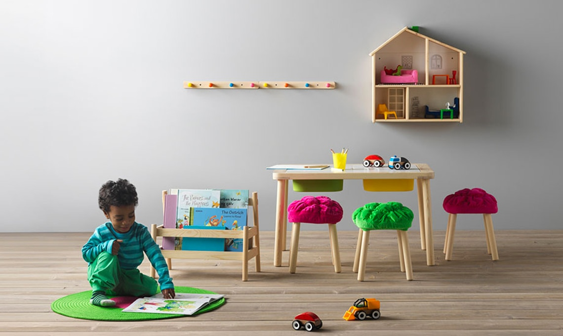 12 consigli per arredare una cameretta montessori casafacile - Ikea mobili camera bambini ...