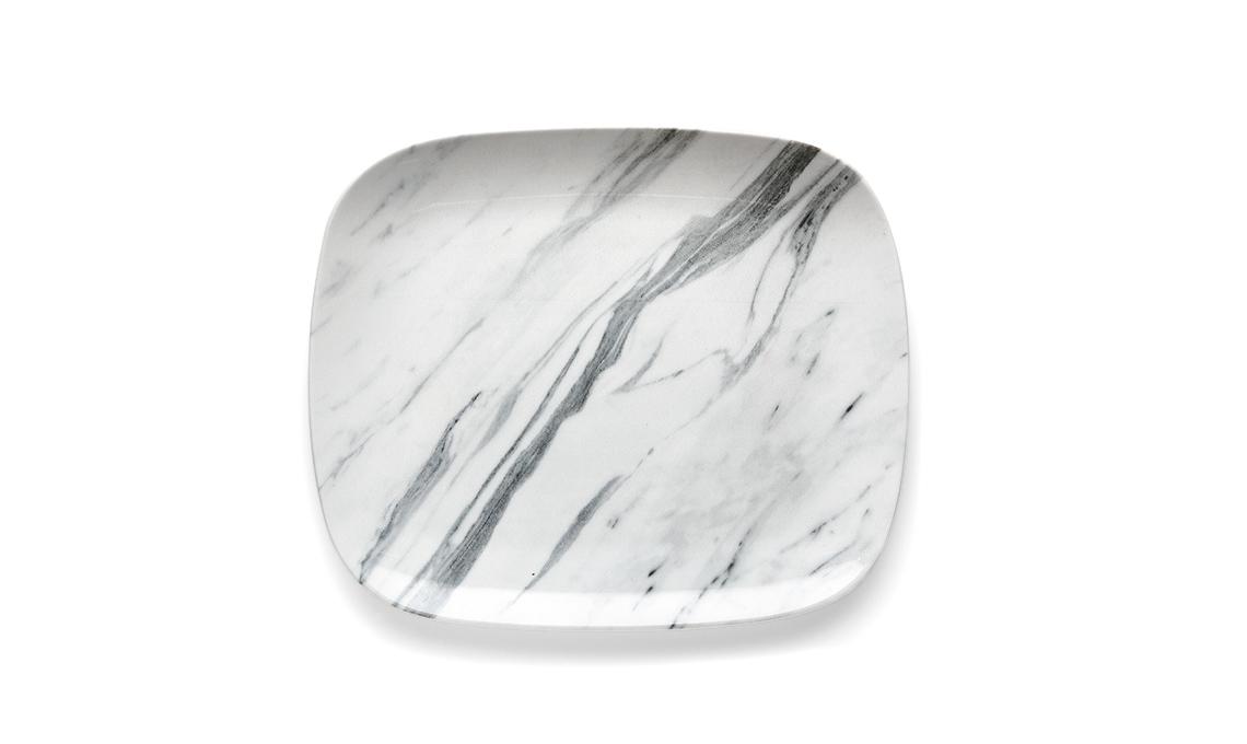 piatto marmorizzato