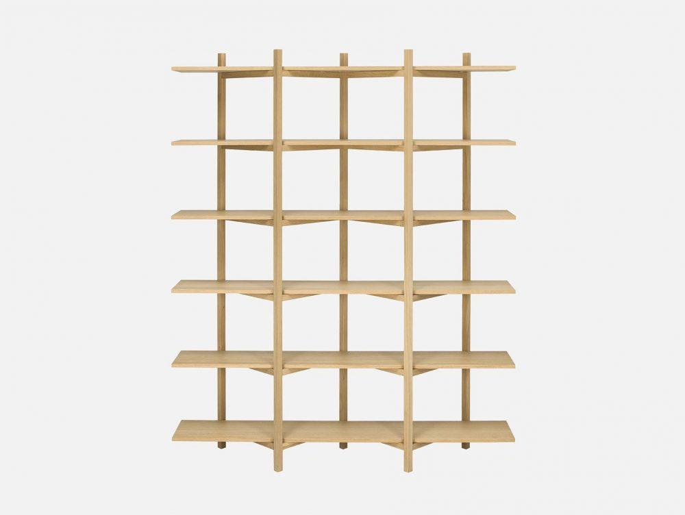 Idee arredo per il soggiorno in legno naturale