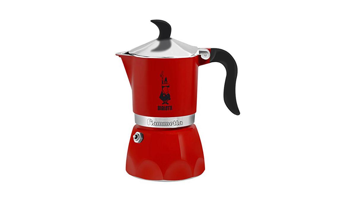 moka caffettiera rossa