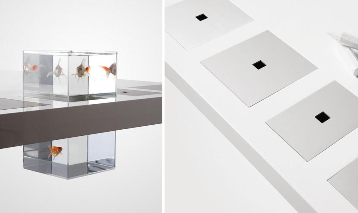 acquario da scrivania