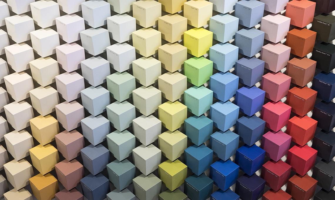 A roma due giorni dedicati a colori e pattern casafacile - Colori per la casa 2017 ...