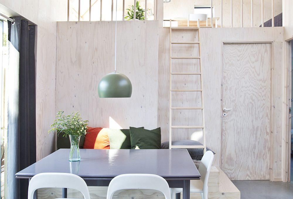 Mobili contenitori e pareti in legno per dividere lo - Casa legno moderna ...